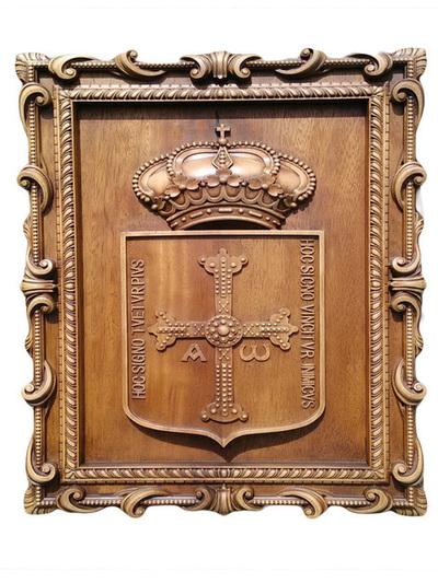Escudo Asturias - Cuadro para colgar