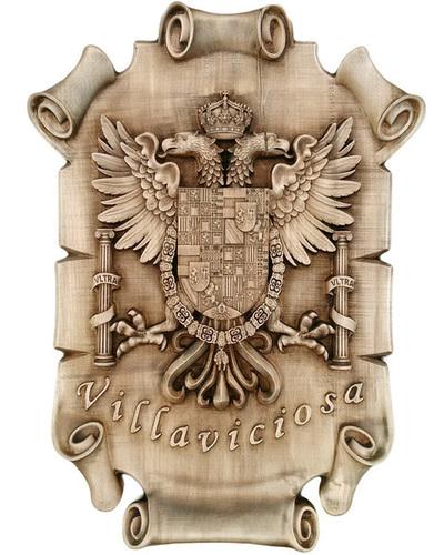 Escudo de Villaviciosa - Pergamino para colgar