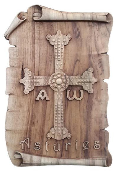 Cruz de la Victoria - Pergamino para colgar
