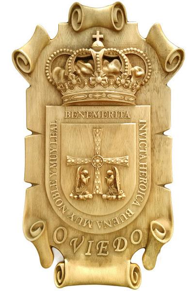 Escudo Oviedo - Pergamino para colgar