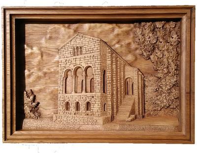Santa María del Naranco - cuadro para colgar