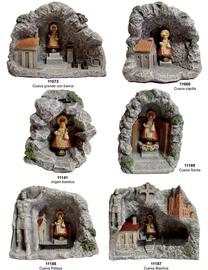Varios modelos cuevas de covadonga
