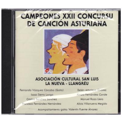 Campeones XXII concursu de canción asturiana