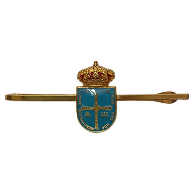 Pasadores de corbata escudo de Asturias