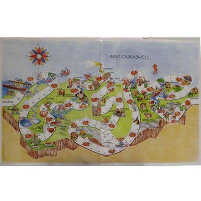 Astur viaje - juego de la oca por Asturias