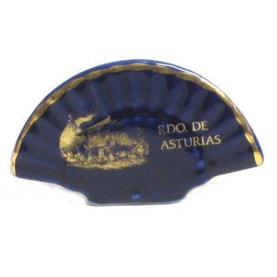 Abanico cobalto horreo asturiano