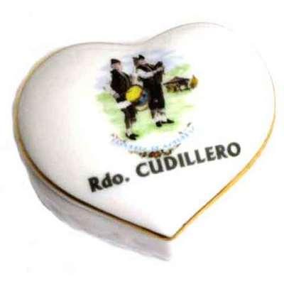 Joyero corazon motivos asturianos