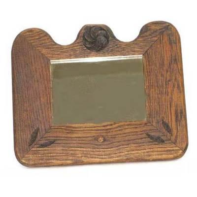 Espejo madera roble