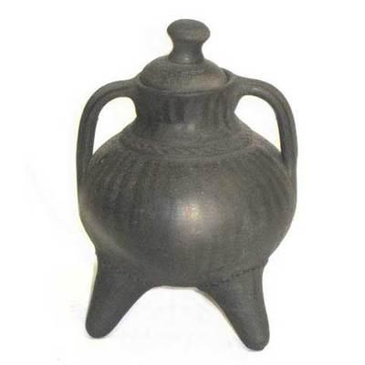 Pote -Ceramica Llamas de Mouro