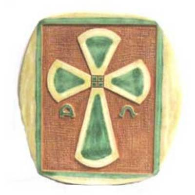 Ceramica colgar esmaltes - varias cruces