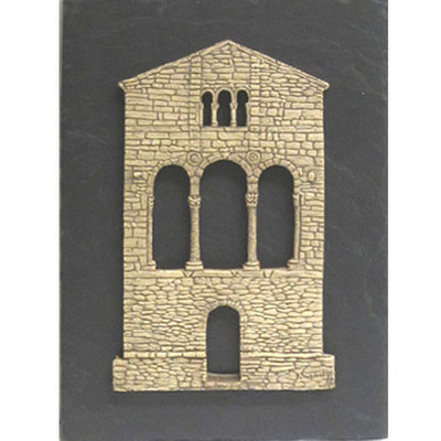 Fachada Santa Maria Naranco - Colgar