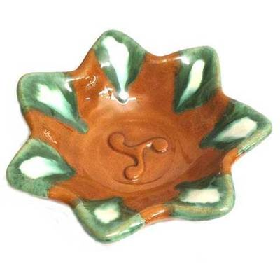 Ceniceros ceramica esmaltada