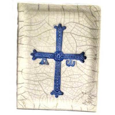 Bandeja rectangular cruz de la victoria grande