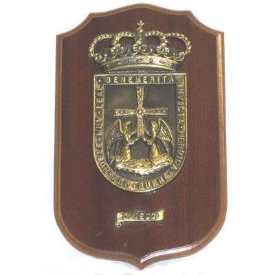 Metopa escudo de Oviedo grande