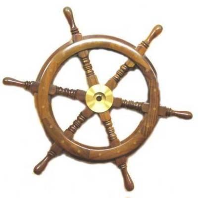 Timón barco original