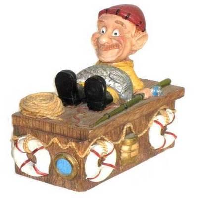 Marineros  caja joyero sentado