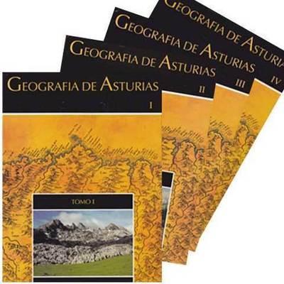 Geografia de Asturias en 4 tomos