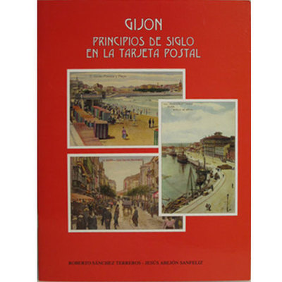 Gijón principios siglo tarjetas
